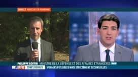 RTL INFO 13H : Philippe Goffin explique la levée de l'interdiction de voyager en z...