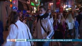 RTL INFO 19H : Des étudiants ont festoyé à Gand sans respecter les mesures sanitaires