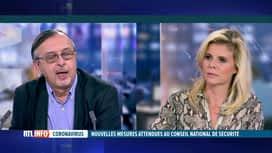 RTL INFO 19H : Yves Van Laethem évoque le Conseil National de Sécurité de demain