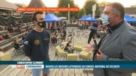 RTL INFO 19H : Coronavirus: qui des activités estudiantines à Louvain-la-Neuve ?