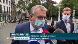 RTL INFO 13H : Coronavirus: le Conseil National de Sécurité se réunit en ce moment