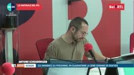RTL INFO sur Bel RTL : RTL Info 8h du 24/09