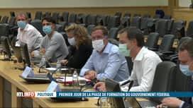 RTL INFO 13H : Gouvernement fédéral : nouvelle réunion autour des formateurs