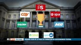 RTL INFO 13H : Gouvernement fédéral : la note des négociations a fuité