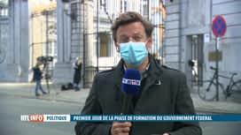 RTL INFO 13H : Gouvernement fédéral : réunion entre partis et formateurs