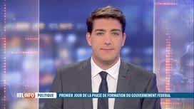 RTL INFO 13H : Gouvernement fédéral : l'avis de Philippe Close au micro de Bel RTL