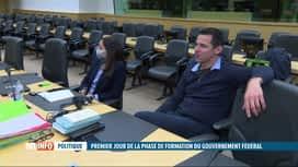 RTL INFO 19H : Gouvernement fédéral : réunion autour des formateurs