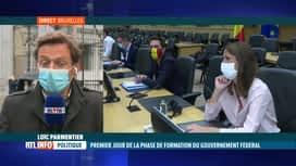 RTL INFO 19H : Gouvernement fédéral : réunion entre partis et formateurs