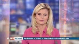 RTL INFO 19H : Gouvernement fédéral : quel est l'avis des partis de l'opposition ?