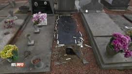 RTL INFO 13H : Le cimetière de Maffle a été vandalisé hier