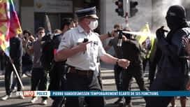 RTL INFO 13H : Le commissaire de police Pierre Vandersmissen écarté temporairement