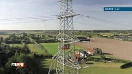 """RTL INFO 13H : 14 communes sont concernées par le projet d'Elia la """"Boucle du Hain..."""