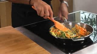 Les spaghettis de légumes