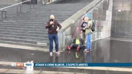 RTL INFO 19H : Attaque à la machette près des anciens locaux de Charlie Hebdo, 2 b...