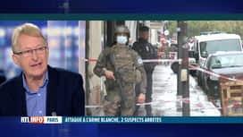 RTL INFO 19H : Attaque à Paris: l'analyse d'André Jacob, ex-agent de la Sûreté de...