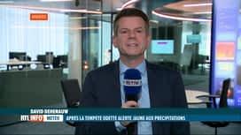 RTL INFO 19H : Tempête Odette: David Dehenauw fait le point météo