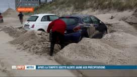 RTL INFO 19H : La tempête Odette a principalement provoqué des dégâts à la Côte