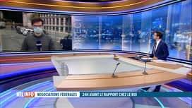 RTL INFO 19H : Formation fédérale: la réunion entre formateurs et députés se poursuit