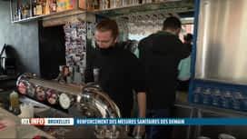 RTL INFO 19H : Coronavirus à Bruxelles : les bars et les cafés devront fermer à 23H