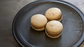 Macarons amande noisette
