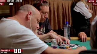 Davidi Kitai aux WSOP 2016 épisode 4