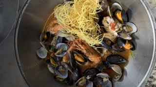 Cataplana aux fruits de mer