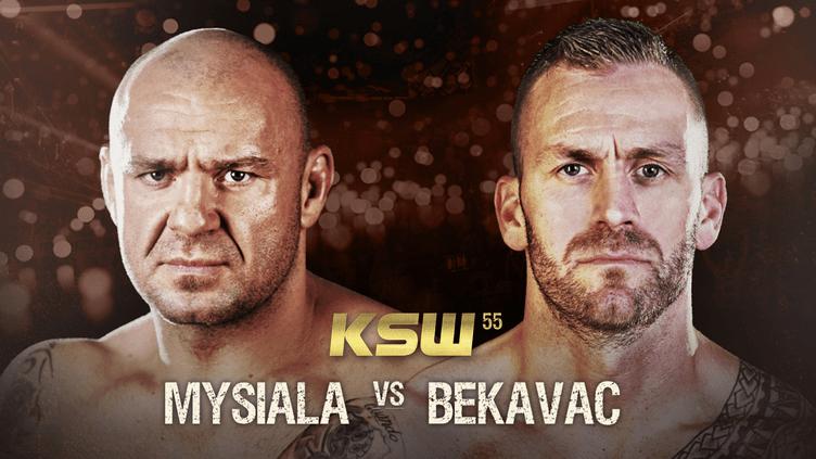 MMA KSW 55: Bekavac vs. Mysiala