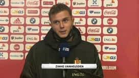 Nations League : 08/10 : Zinho Vanheusden (Belgique)