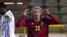 Nations League : 08/10 : Belgique - Côte d'Ivoire : 2ème mi-temps