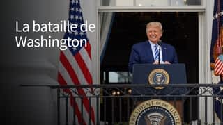 La bataille de Washington