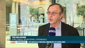 RTL INFO 13H : Coronavirus: les chiffres de l'épidémie sont toujours en hausse che...