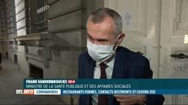 RTL INFO 13H : Coronavirus: la fermeture de l'Horeca a divisé le comité de concert...