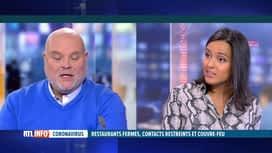 RTL INFO 13H : Coronavirus, fermeture de l'Horeca: l'éclairage de Pierre-Frédéric...