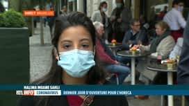 RTL INFO 13H : Coronavirus: dernier jour d'ouverture pour les cafés et restaurants