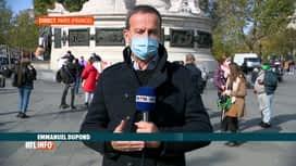 RTL INFO 13H : Enseignant assassiné en France: rassemblement en sa mémoire à Paris