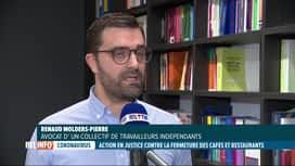 RTL INFO 13H : Coronavirus: des exploitants de l'Horeca annoncent une action en ju...