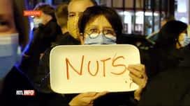 RTL INFO 13H : Coronavirus: manifestation du personnel de l'Horeca hier soir à Bas...