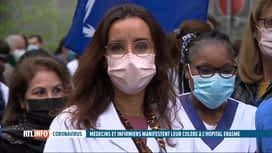 RTL INFO 13H : Coronavirus: arrêt de travail du personnel de l'hôpital Erasme