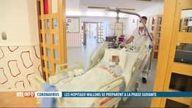 RTL INFO 19H : Coronavirus: les hopitaux wallons se mobilisent et s'organisent
