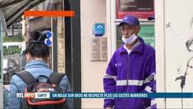 RTL INFO 13H : Coronavirus: un Belge sur deux n'observe plus les gestes barrières