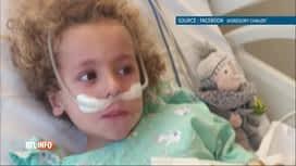 RTL INFO 19H : Coronavirus: le petit Kaïs, lourdement malade, est sorti du coma