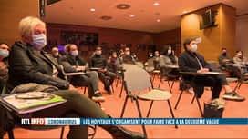 RTL INFO 19H : Coronavirus: le CHR de Liège fait appel à des bénévoles
