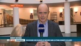 RTL INFO 13H : Coronavirus: la Ministre de l'Education rencontre les acteurs de l'...
