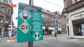 RTL INFO 13H : Coronavirus: le port du masque à nouveau obligatoire dans Namur