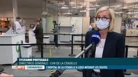 RTL INFO 13H : Coronavirus: l'hôpital de la Citadelle à Liège interdit les visites...