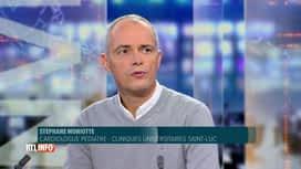 RTL INFO 19H : Coronavirus: le pédiatre Stéphane Moniotte est invité dans ce journal