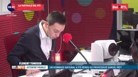RTL INFO sur Bel RTL : RTL Info 8h du 22/10
