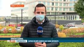 RTL INFO 13H : Coronavirus: Sophie Wilmès est hospitalisée aux soins intensifs
