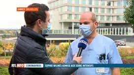 RTL INFO 13H : Coronavirus: l'état de santé de Sophie Wilmès est rassurant
