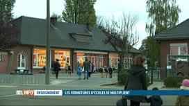RTL INFO 13H : Coronavirus: fermeture des écoles communales à Ham-sur-Heure-Nalinnes